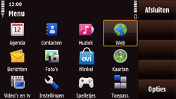 Nokia N97 Mini - Internet - handmatig instellen - Stap 18