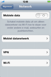 Apple iPhone 3G S met iOS 5 - Internet - Handmatig instellen - Stap 5