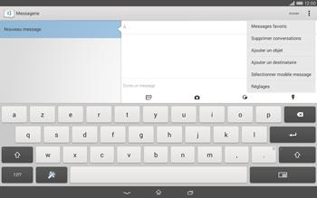 Sony Xperia Tablet Z2 (SGP521) - MMS - envoi d'images - Étape 5
