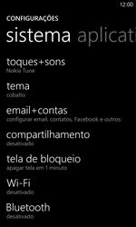 Nokia Lumia 920 - Email - Como configurar seu celular para receber e enviar e-mails - Etapa 4