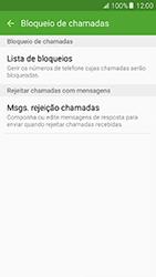 Samsung Galaxy A5 (2016) (A510F) - Chamadas - Bloquear chamadas de um número -  7