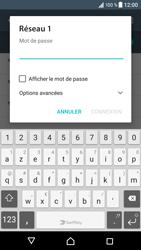 Sony Xperia XZ (F8331) - Wi-Fi - Accéder au réseau Wi-Fi - Étape 7