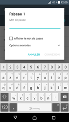 Sony Xperia XZ - Wifi - configuration manuelle - Étape 6