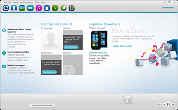 Nokia 216 - Software - Synchroniseer met PC - Stap 2
