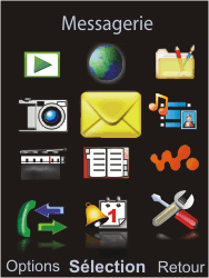 Sony Ericsson W595 - Mms - Configuration manuelle - Étape 3