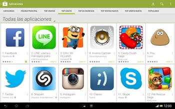 Sony Xperia Tablet Z - Aplicaciones - Descargar aplicaciones - Paso 7