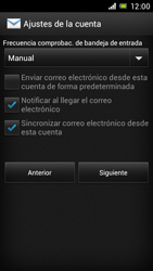 Sony Xperia J - E-mail - Configurar correo electrónico - Paso 16