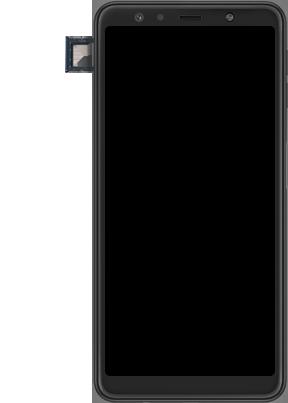 Samsung Galaxy A7 2018 - Premiers pas - Insérer la carte SIM - Étape 6