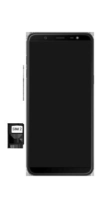 Samsung Galaxy J8 - Primeiros passos - Como inserir o chip da Nextel no seu celular - Etapa 8