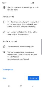 Samsung Galaxy S10e - Applications - Create an account - Step 14