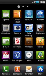 Samsung I9000 Galaxy S - MMS - afbeeldingen verzenden - Stap 2