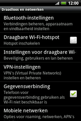 HTC A510e Wildfire S - Bellen - in het buitenland - Stap 5