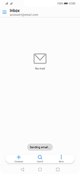 Huawei Mate 20 Lite - Email - Sending an email message - Step 16