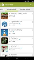 Sony Xperia E4 - Aplicações - Como pesquisar e instalar aplicações -  7