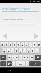 Sony Xpéria T3 - Premiers pas - Créer un compte - Étape 16