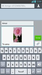 LG Optimus L9 - Mensajería - Escribir y enviar un mensaje multimedia - Paso 16