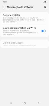 Samsung Galaxy A20 - Funções básicas - Como atualizar o software do seu aparelho - Etapa 5
