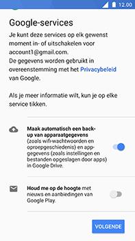 Nokia 6 - Applicaties - Account aanmaken - Stap 18