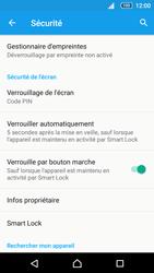 Sony Xperia Z5 Compact - Sécuriser votre mobile - Activer le code de verrouillage - Étape 12