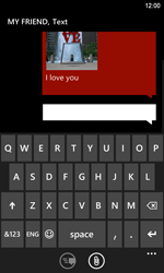 Nokia Lumia 920 LTE - MMS - Sending pictures - Step 11