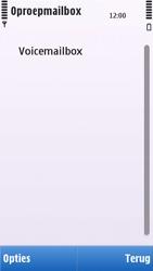 Nokia C5-03 - Voicemail - handmatig instellen - Stap 7