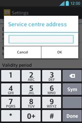 LG E610 Optimus L5 - SMS - Manual configuration - Step 5