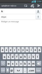 LG Optimus F6 - E-mails - Envoyer un e-mail - Étape 5