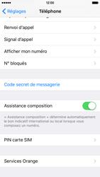 Apple iPhone 6s - Sécuriser votre mobile - Personnaliser le code PIN de votre carte SIM - Étape 4
