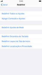 Apple iPhone 8 - iOS 13 - Funções básicas - Como restaurar as configurações originais do seu aparelho - Etapa 5