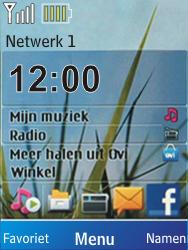 Nokia X2-00 - Bellen - in het buitenland - Stap 10