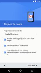 LG Google Nexus 5X - Email - Como configurar seu celular para receber e enviar e-mails - Etapa 25