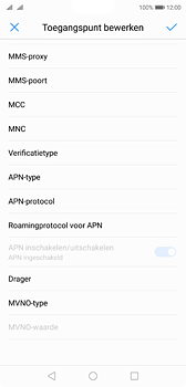 Huawei P20 - Internet - handmatig instellen - Stap 16