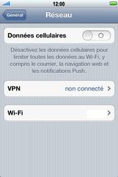 Apple iPhone 4 S - Internet - activer ou désactiver - Étape 5