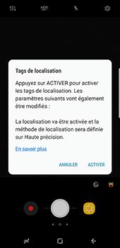 Samsung Galaxy S8+ - Photos, vidéos, musique - Prendre une photo - Étape 7