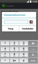 LG Optimus L70 (LG-D320n) - Voicemail - Handmatig instellen - Stap 8
