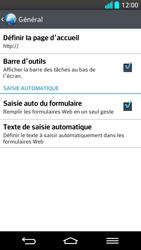 LG G2 - Premiers pas - Configurer l