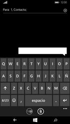 Microsoft Lumia 640 - Mensajería - Escribir y enviar un mensaje multimedia - Paso 7