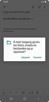 Samsung galaxy-a8-2018-sm-a530f-android-pie - E-mail - Hoe te versturen - Stap 14