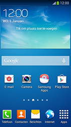 Samsung G386F Galaxy Core LTE - Internet - handmatig instellen - Stap 1