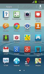 Samsung I8190 Galaxy S III Mini - Email - Como configurar seu celular para receber e enviar e-mails - Etapa 3
