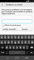 Huawei Ascend P7 - E-mail - Configurer l