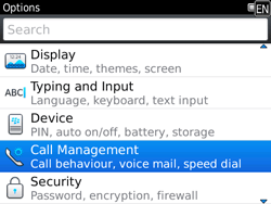 BlackBerry 9780 Bold - Voicemail - Manual configuration - Step 4
