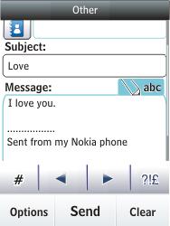 Nokia C2-03 - E-mail - Sending emails - Step 12