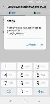 Samsung galaxy-a8-2018-sm-a530f-android-oreo - Beveiliging en ouderlijk toezicht - Hoe wijzig ik mijn SIM PIN-code - Stap 9