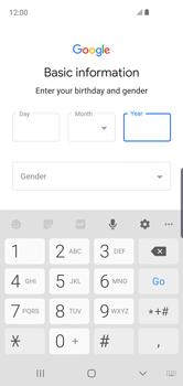 Samsung Galaxy S10e - Applications - Create an account - Step 9