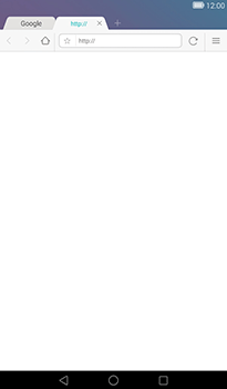 Huawei MediaPad T1 (7.0) - Internet - Navigation sur internet - Étape 10