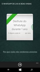 Microsoft Lumia 535 - Aplicações - Como configurar o WhatsApp -  10