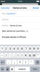 Apple iPhone SE - E-mail - Escribir y enviar un correo electrónico - Paso 8