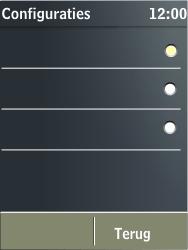 Nokia X3-02 - MMS - automatisch instellen - Stap 13