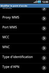 Samsung S5660 Galaxy Gio - MMS - configuration manuelle - Étape 11